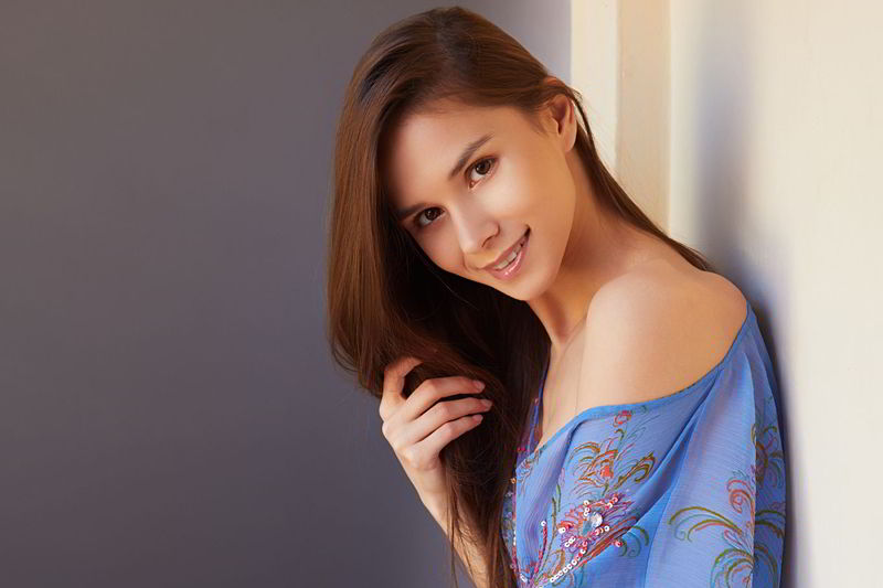 Leona Mia in Innocent Glance - Metart discount